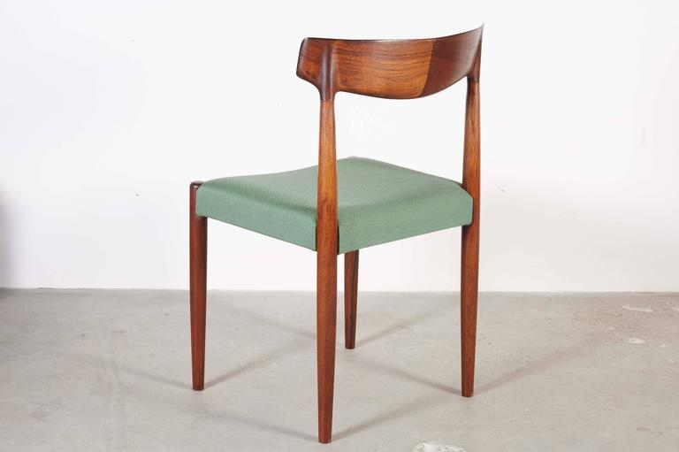 Danish Dining Chairs by Knud Faerch, set of 6 6