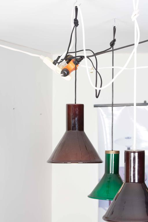 Michael Bang Red Pendant Lamp 2