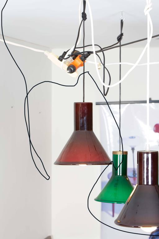 Michael Bang Red Pendant Lamp 3