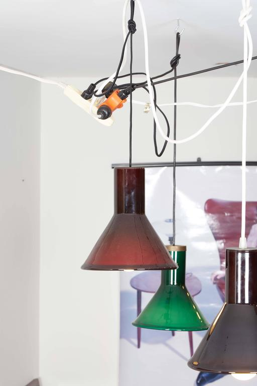 Michael Bang Red Pendant Lamp 4