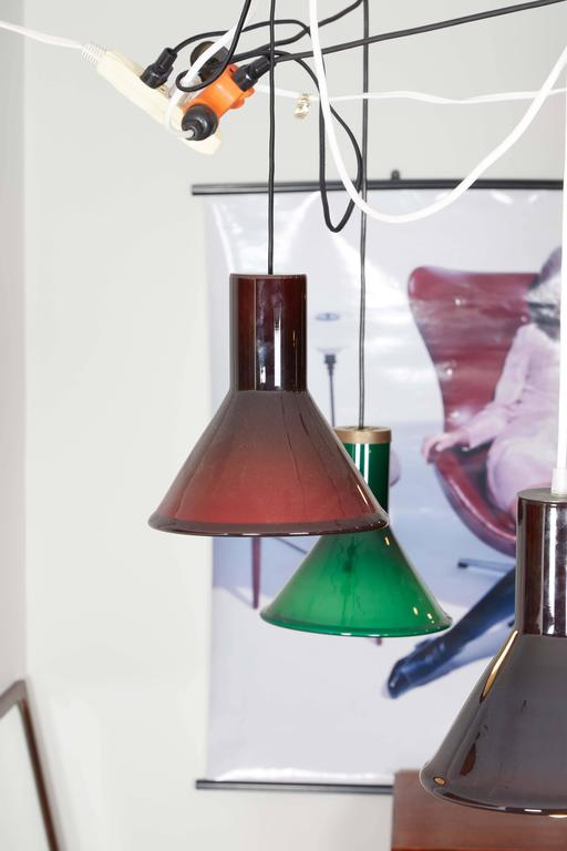 Michael Bang Red Pendant Lamp 5