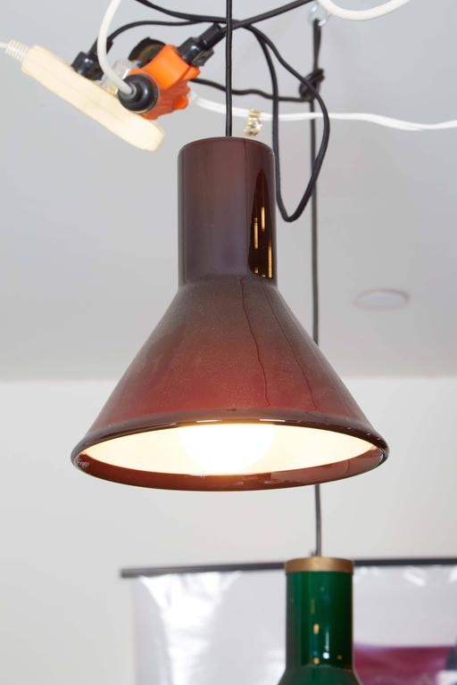 Michael Bang Red Pendant Lamp 6