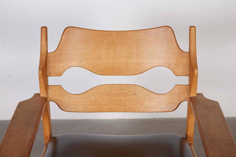 Danish Armchairs by Henning Kjaernulf in Oak 6