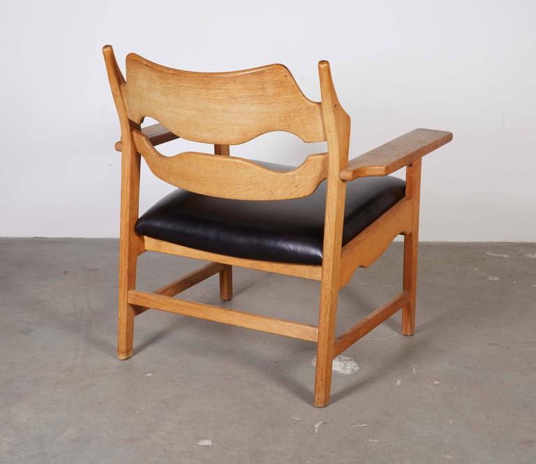 Danish Armchairs by Henning Kjaernulf in Oak 7