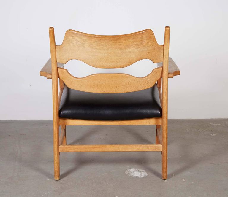 Danish Armchairs by Henning Kjaernulf in Oak 8