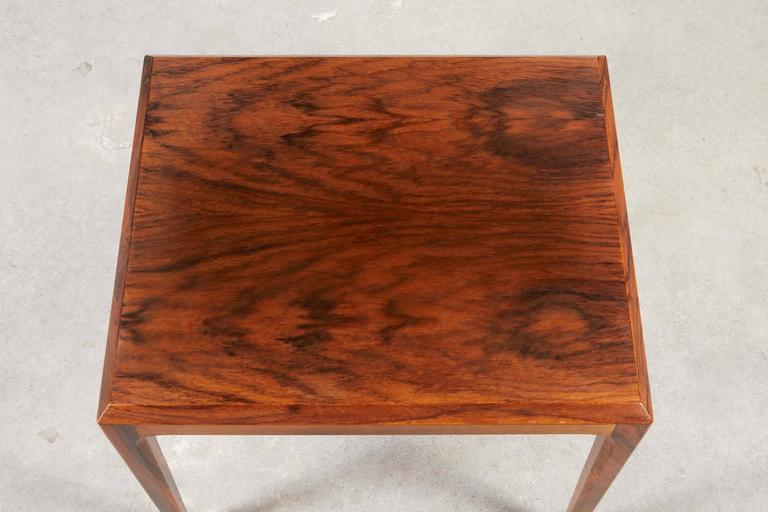 Rosewood Nesting Tables by Johannes Andersen 5