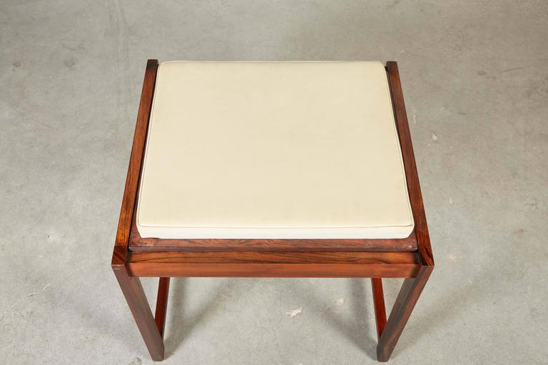 Danish Reversible End Table / Ottoman 4