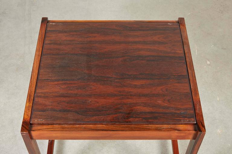 Danish Reversible End Table / Ottoman 5