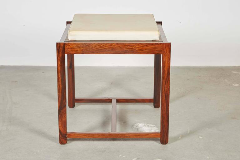 Danish Reversible End Table / Ottoman 7