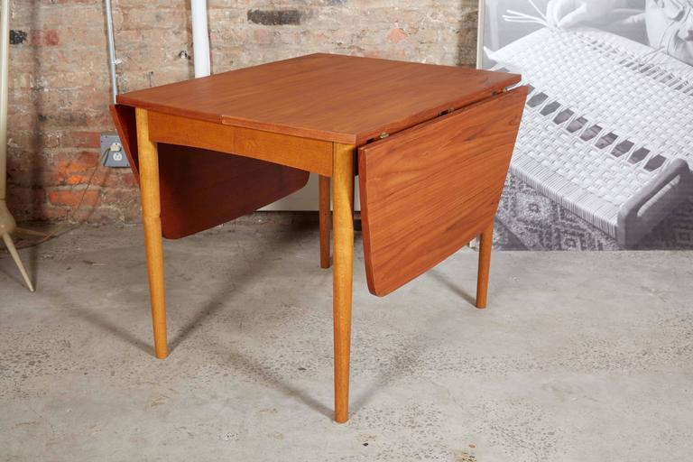 Drop Leaf Dining Table 7