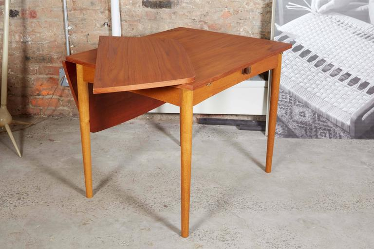 Drop Leaf Dining Table 8