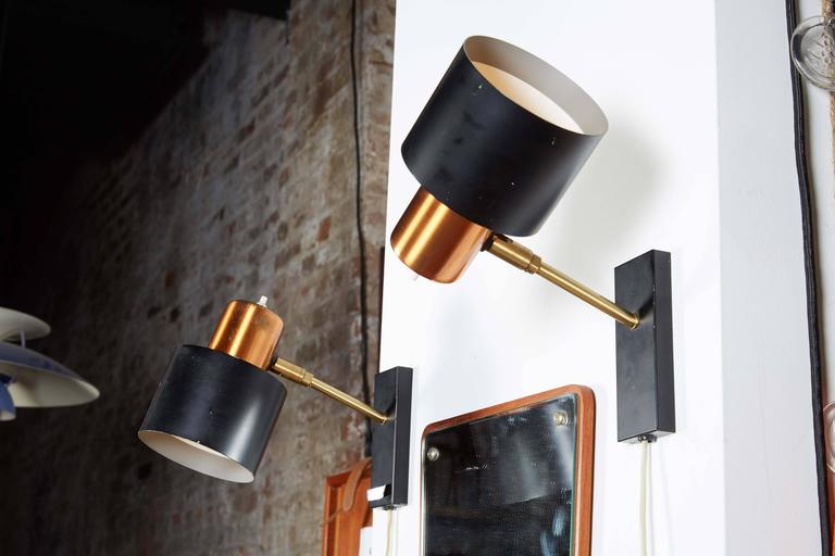 Mid Century Sconces by Jo Hammerborg 7
