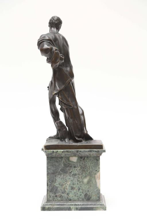 Italian Venetian Bronze Statuette of St. Jerome, 17th-18th Century For Sale