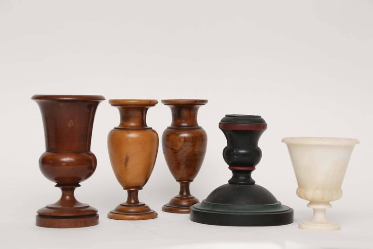 Group of Treens, Candlestick and Alabaster Cup, 19th-20th Century 2