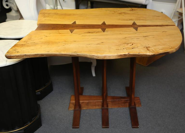 Large Nakashima Inspired Table by Paul Sarochuck 2