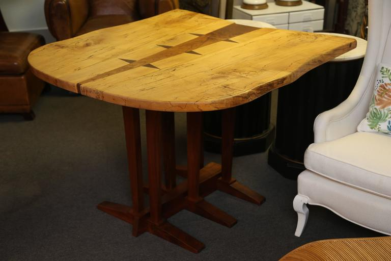 Large Nakashima Inspired Table by Paul Sarochuck 3