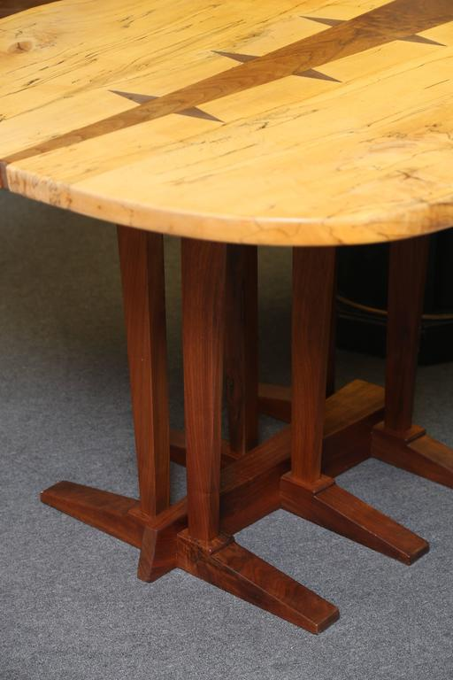 Large Nakashima Inspired Table by Paul Sarochuck 4