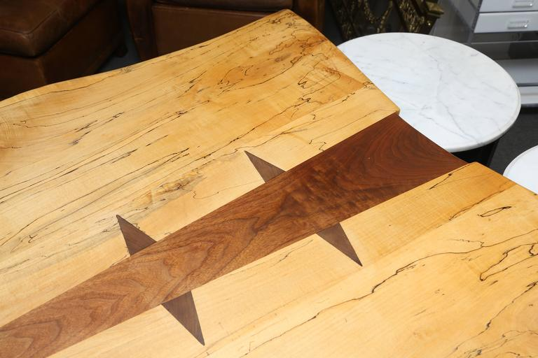 Large Nakashima Inspired Table by Paul Sarochuck 5