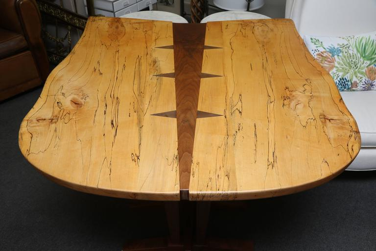 Large Nakashima Inspired Table by Paul Sarochuck 6
