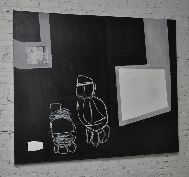 American 21st Century Untitled Painting on Canvas by Greg Dickerson For Sale