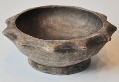 20th Century Primitive Wood Bowl