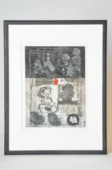 Mid-Century French Etching Untitled