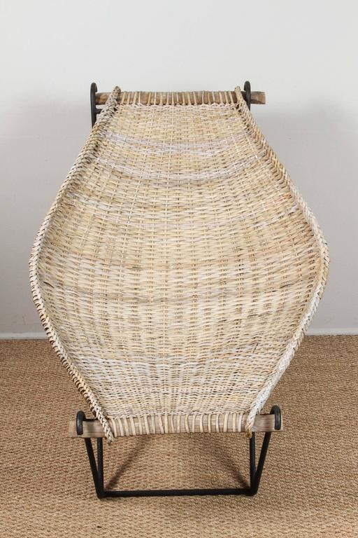 Vintage John Risley chair. 90% original rattan with contemporary rattan added for extra strength.