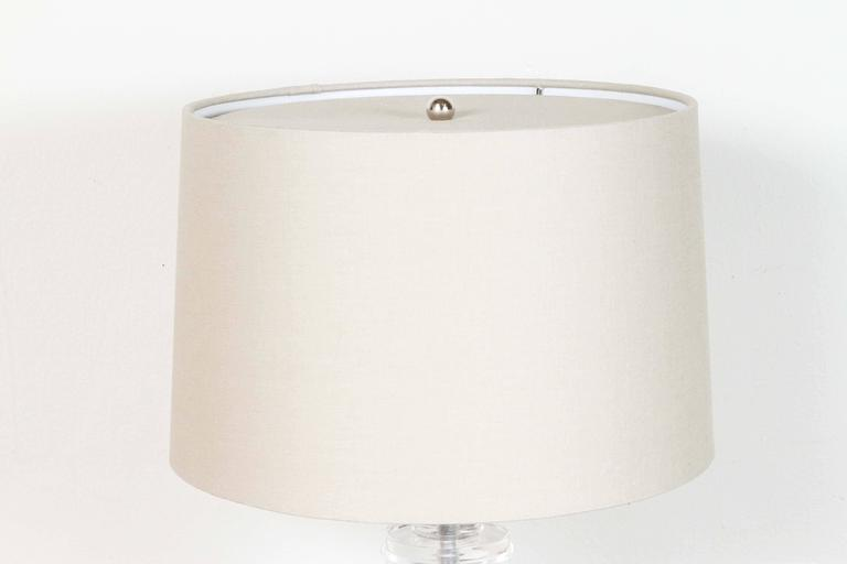 Lucite Disc Table Lamp 3