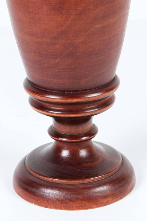 Victorian Wooden Mortar and Pestle, Italy For Sale