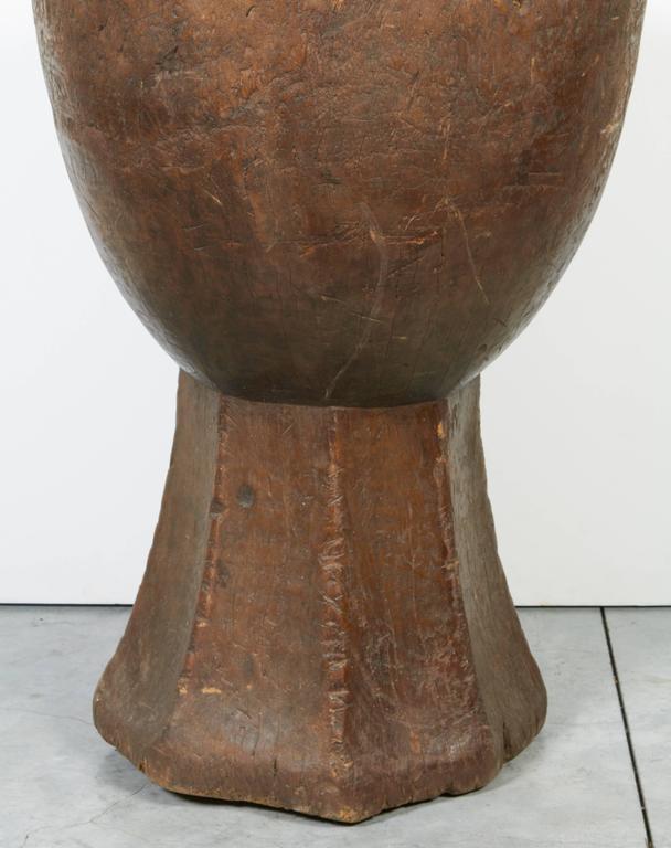 Tall Teak Mortar For Sale 4