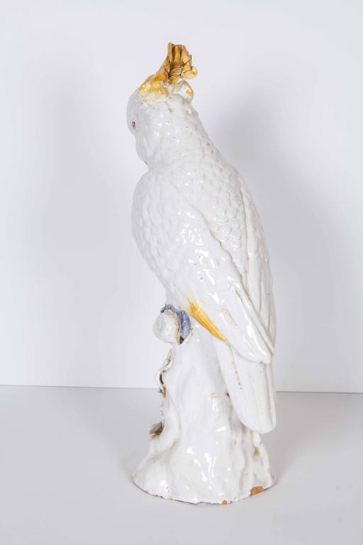 Meissen Style Porcelain Model of a Cockatoo 7