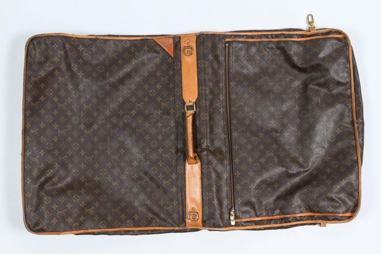 Vintage Louis Vuitton Garment Carrier For Sale At 1stdibs