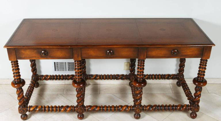 Portuguese Style Wooden Console Table At 1stdibs