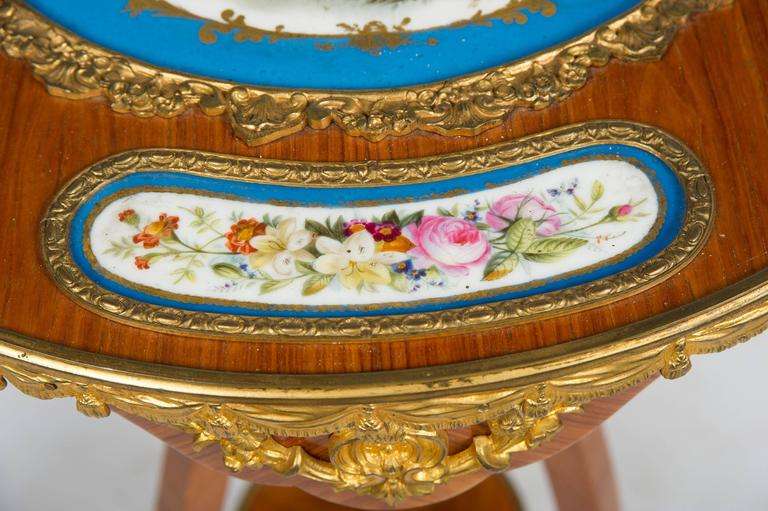 Hand-Painted 19th Century French Occasional Table For Sale