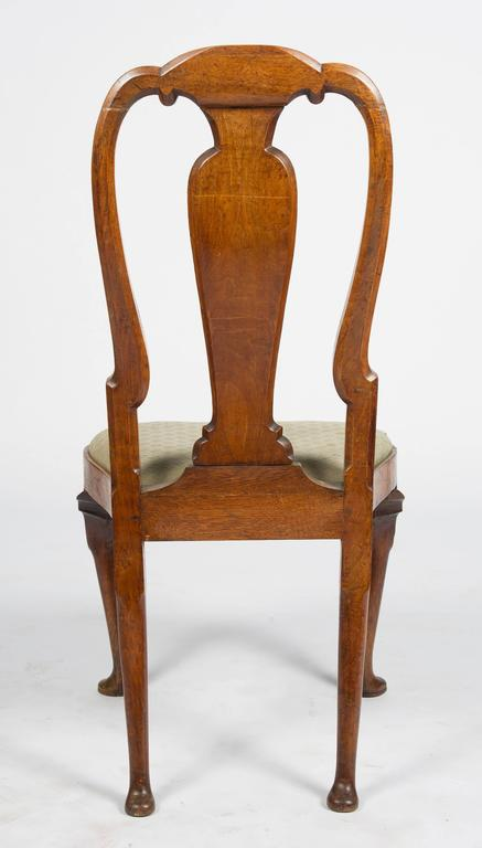 Set of Six 18th Century Dutch Marquetry Chairs For Sale 6
