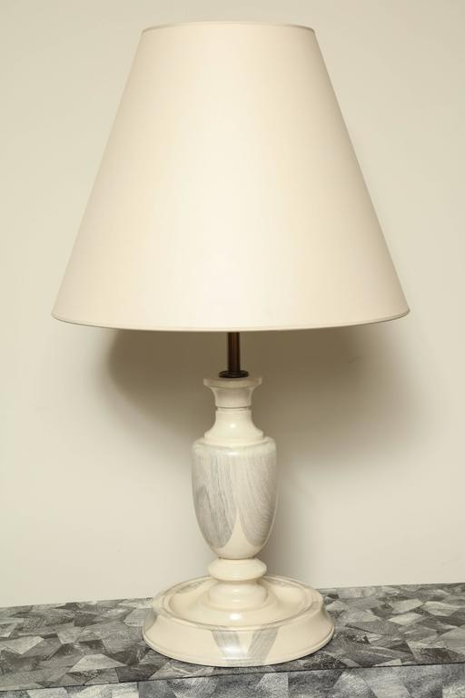Oak Table Lamp For Sale 1