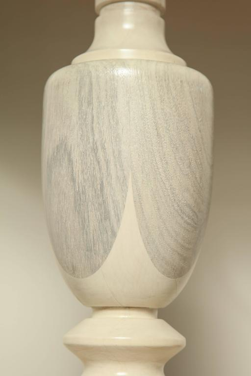 Oak Table Lamp 7