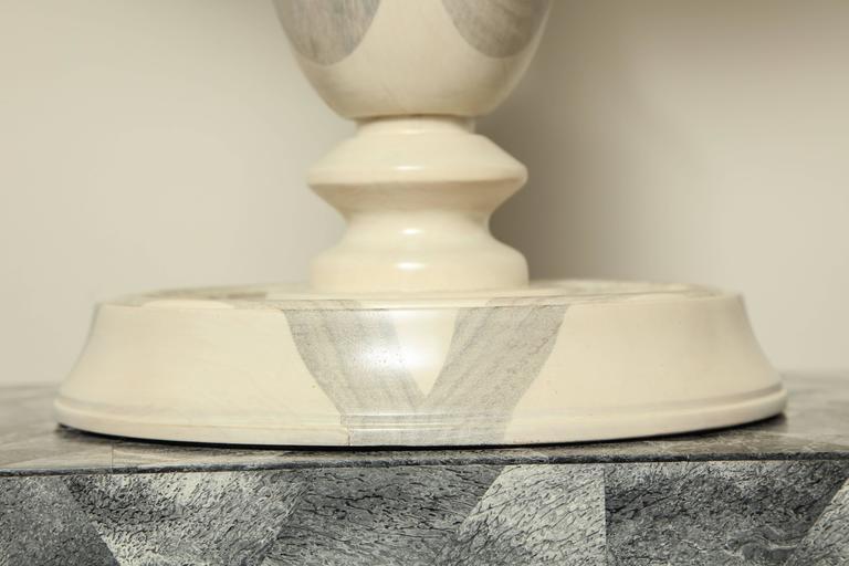 Oak Table Lamp For Sale 4