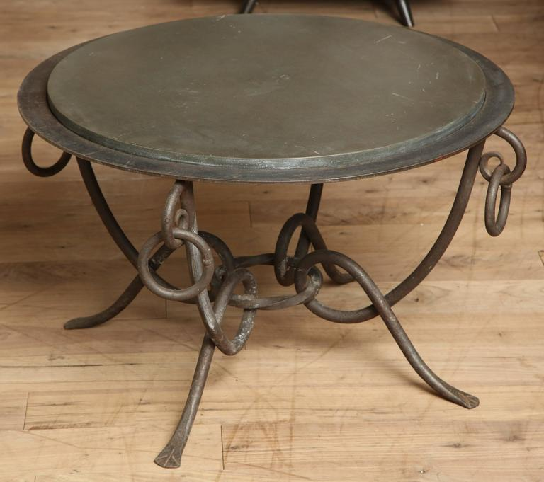 Wrought Iron Table 2