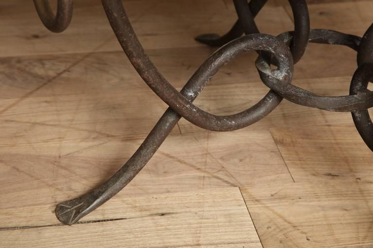 Wrought Iron Table 7