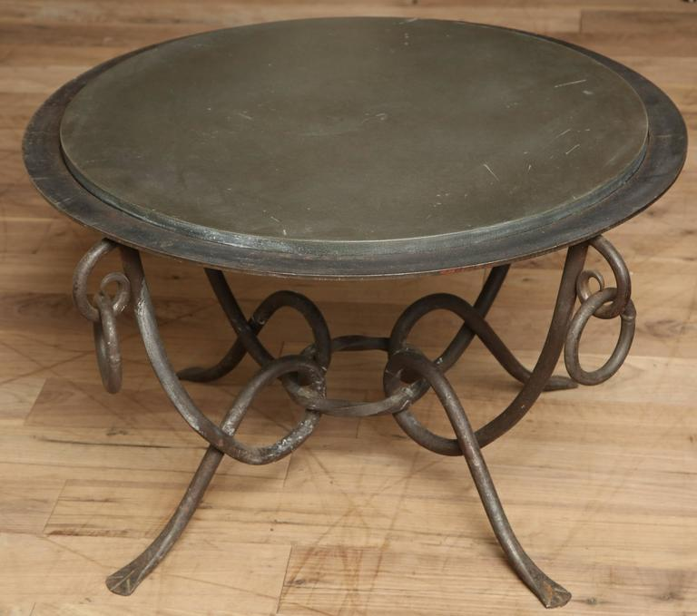 Wrought Iron Table 9