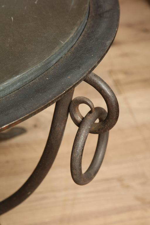 Wrought Iron Table 10