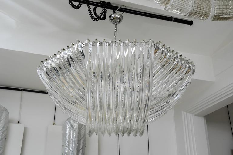 Gorgeous Murano Curved Crystal Chandelier 3