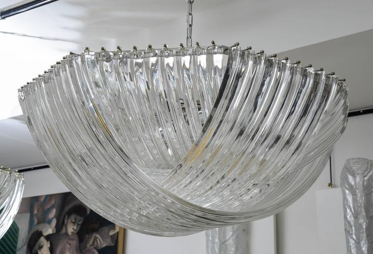 Gorgeous Murano Curved Crystal Chandelier 6