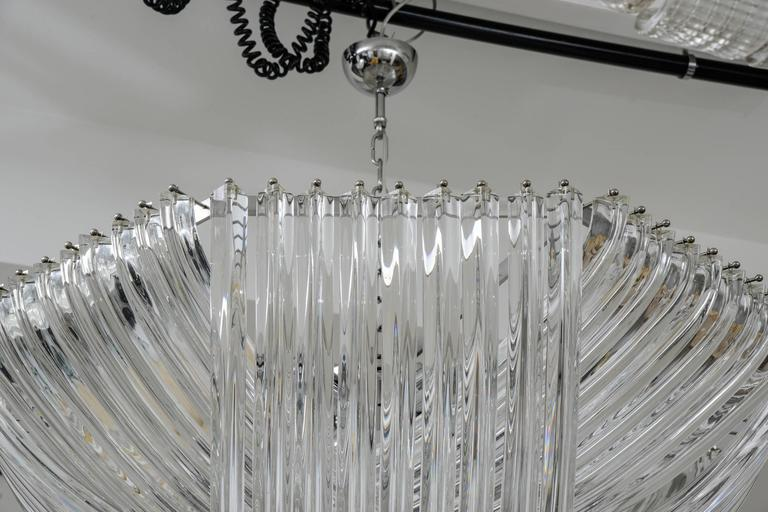 Gorgeous Murano Curved Crystal Chandelier 7