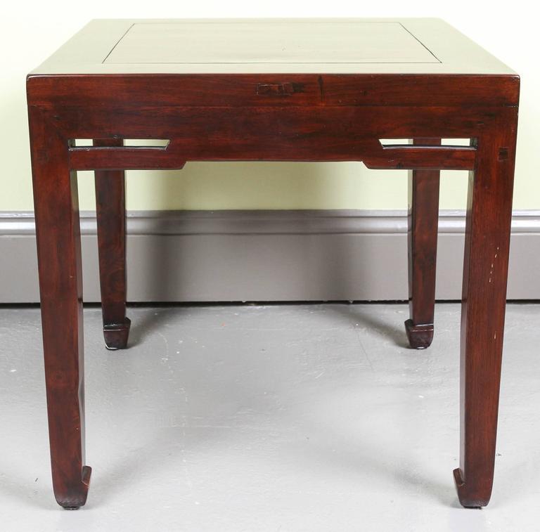 Chinese Jumu Wood End Tables 3
