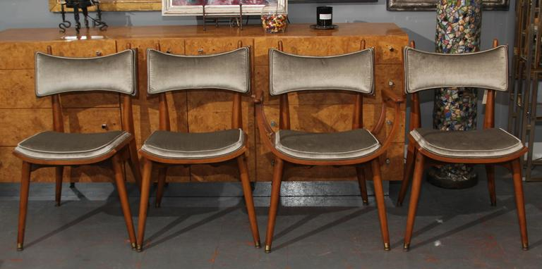 Set of Four Mid-Century Chairs 2