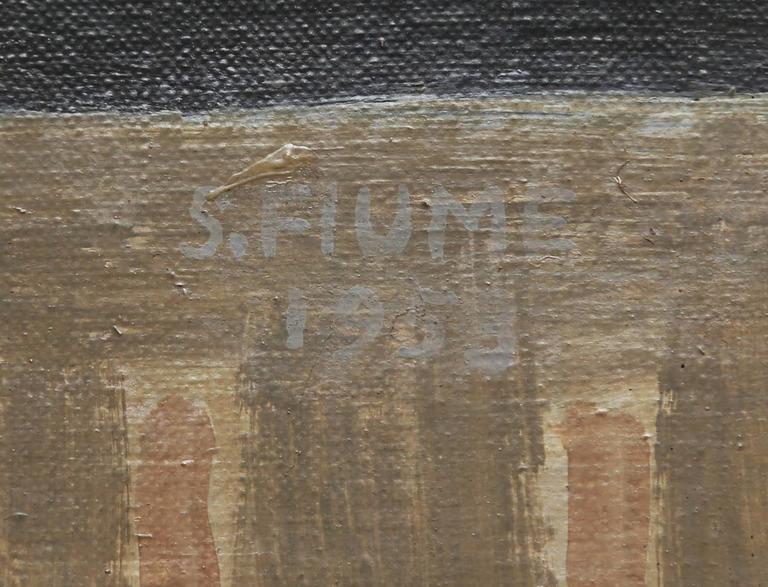 Rare Salvador Fiume Four-Panel Screen For Sale 1
