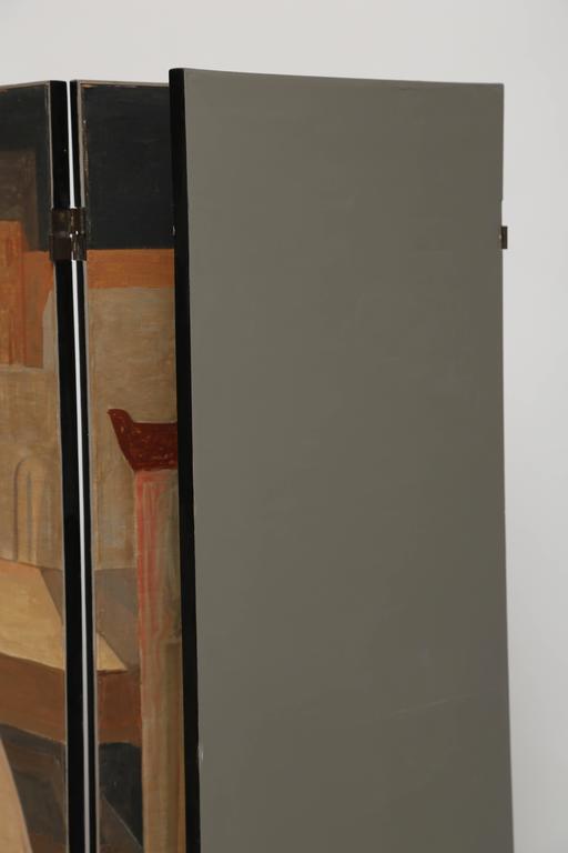 Rare Salvador Fiume Four-Panel Screen For Sale 2