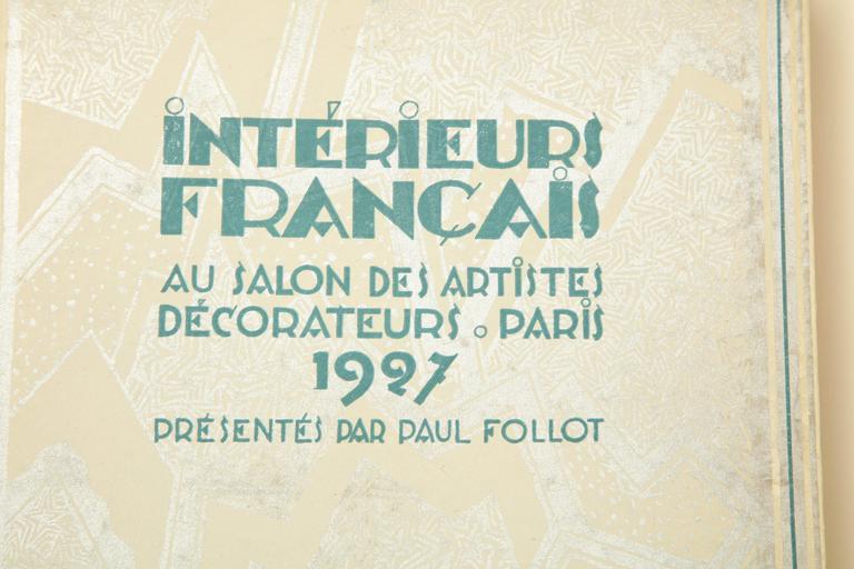 Interieurs Francais Au Salon Des Artistes Deorateurs, Paris 1927 by ...
